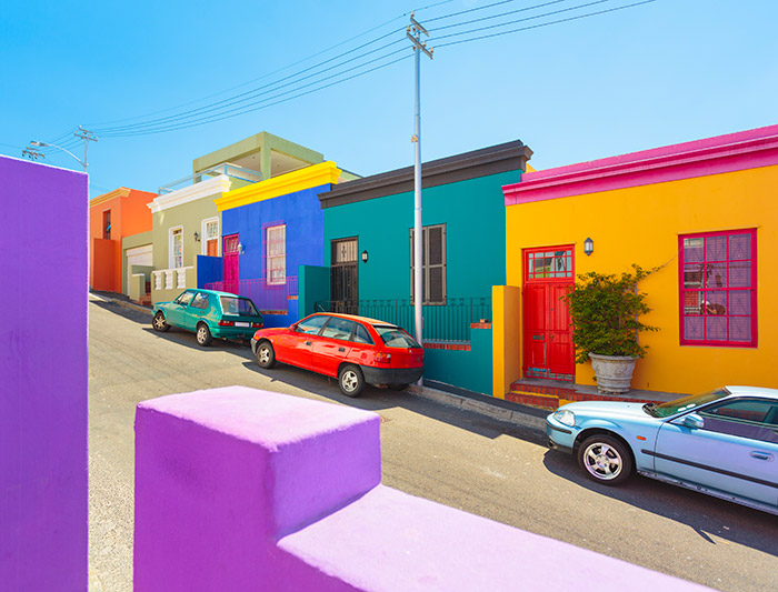 World's Most Colorful Neighborhoods