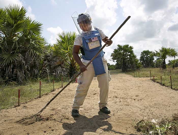 The Women Clearing Mines In Sri Lanka