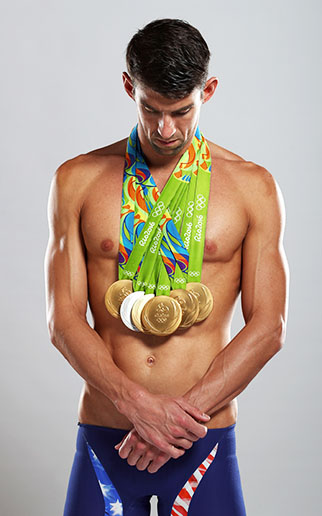 What an Amazing Run, Michael Phelps!