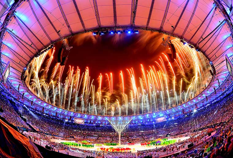 The Opening and Closing Ceremonies of the Games